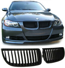 FRONT GRILLS BLACK FOR BMW E90 E91 05-08 LIMO + TOURING SPOILER BODY KIT NEW