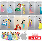 iPhone Clear Silicone Cover Case Little Mermaid Disney Princess - Coverlads