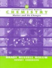 Chemistry, Student Solutions Manual : The Study of Matter and Its Changes by...