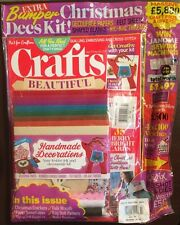 Crafts Beautiful Free Felt Decoupage Kit Bonus Projects Xmas 2014 FREE SHIPPING