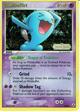 POKEMON EX LEGEND MAKER EXPANSION RARE FOIL CARD 28/92 WOBBUFFET grade 9/10