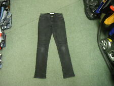 "Dorothy Perkins Skinny Jeans Size 8 Leg 31"" Black Faded Ladies Jeans"