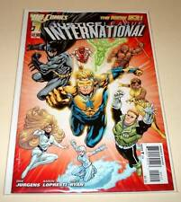 JUSTICE LEAGUE INTERNATIONAL # 1  (Nov 2011) DC Comic  2nd PRINTING VARIANT  NM