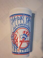 NY Yankee 2003 100th Anniversary Collectors Cup Yankee Stadium Great Display Cup
