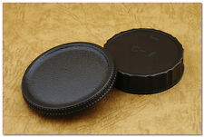 Lens Cap Set Yashica Contax CY C/Y SLR Camera Body + Rear Cap RTS 167MT FR FX-3