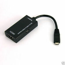 MHL to HDMI TV CABLE ADAPTER For HTC One Sony Xperia Z1 Z2 Samsung Galaxy S2
