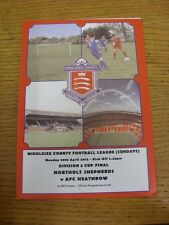 30/04/2012 Middlesex County League Sunday Division 5 Cup Final: Northolt Shepher