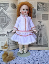 Elegant dress, for  French doll 12""
