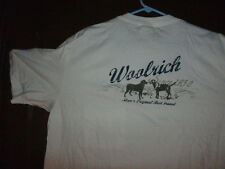 WOOLRICH t-shirt S/S white front pocket with two dogs size largetall brand NWT