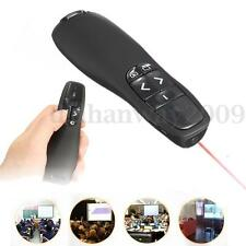 Wireless PowerPoint PPT Presenter Remote Control Laser Pointer Pen Presentation-