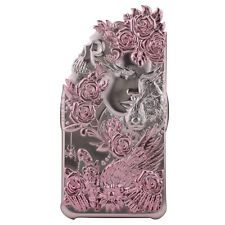 Apple iPhone 6, 6S Luxury Case 3D Cover Angel Wing Lucky Star Pink