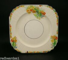 Myott Vintage China Floral Cake Plate Art Deco c1930's