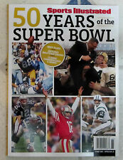 SPORTS ILLUSTRATED Special 2016 SUPER BOWL 50 YEARS Special Commemorative Issue
