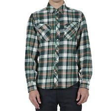 "Volcom L/S Button Up Flannel Shirt ""Alaska"" MNG - XLarge - NWT Reg $90"