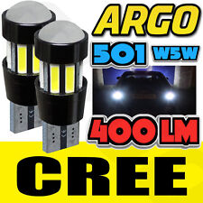 LANCER EVO 4 5 6 94-01 BRIGHT CANBUS LED NUMBER PLATE 501 W5W CREE WHITE BULBS
