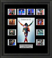 THIS IS IT FRAMED FILM CELL MEMORABILIA MICHAEL JACKSON