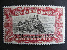 SAN MARINO Sc B17 MH nice stamp here check it out!