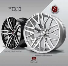 "AXE EX30 WHEELS RIMS 20"" STAGGERED SETUP MUSTANG, G35, 350Z, ACCORD,GENESIS"