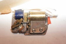 Vintage Reuge Music Box Electric Movement AS IS for parts ..