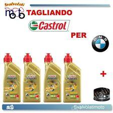 TAGLIANDO FILTRO OLIO + 4LT CASTROL POWE1 10W40 BMW R-1200 RT SE 2010 2011 2012