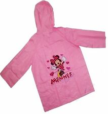 Disney Minnie Mouse 8 Año Impermeable Nuevo Regalo
