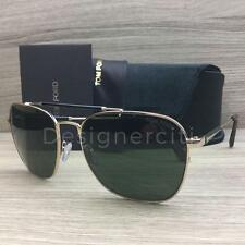 Tom Ford Edward TF377 377 Sunglasses Rose Gold Black 28R Authentic 58mm