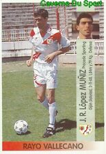 389 RAMON LOPEZ MUNIZ ESPANA RAYO VALLECANO ULTIMO STICKER LIGA ESTE 1997 PANINI