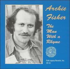The Man with a Rhyme by Archie Fisher (CD, May-1995, Folk-Legacy)