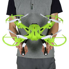 JJRC H26 CF Mode RC Quadcopter 2.4G 4CH 6-Axis Drone LED 3D UFO 300M RTF Verde