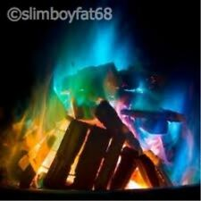 6 x Mystical Fire Coloured Flames Halloween Bonfire Party Fun Fire Pit Chimenea