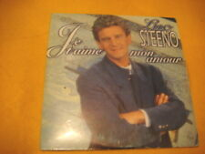Cardsleeve Single CD LUC STEENO Je T'aime Mon Amour 2TR 1995 schlager