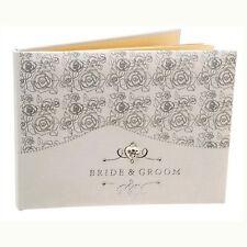 """Design Rosa """"Sposa e sposo"""" Matrimonio Libro Degli Ospiti WG383"""