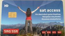 Schweizer TV HD Sat Karte SRG SRF Viaccess  Karte Version 5.0 HDTV