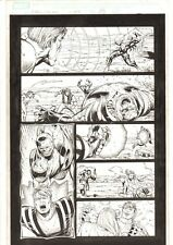 X-Men: The End #8 p.18 - Emma Frost, Banshee, and Bishop 2005 art by Sean Chen