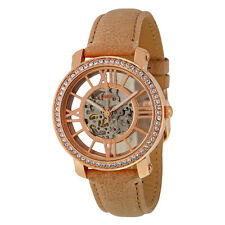 Fossil Curiosity Skeleton Dial Automatic Ladies Watch ME3060