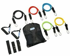 Heavy Duty Resistance Bands Set with Door Anchor - FREE Access to Over 50 Resist