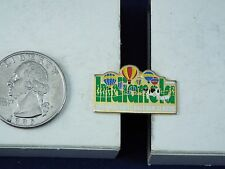 HOT AIR BALLOON PIN 1999 NATIONAL BALLOON CLASSIC, COW,PIG