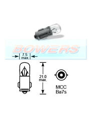 LUCAS LLB283 24V VOLT 3W MCC BA7S DASHBOARD WARNING LAMP GAUGE LIGHT BULB