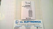 MANUALE IN ITALIANO istruzioni d'uso per ICOM IC-V85
