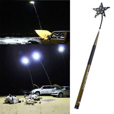 Telescopic Fishing Rod Car Repair LED Lantern Camping Lamp Light+Remote Control