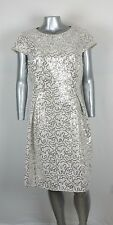 PLUS  CALVIN KLEIN  FORMAL COCKTAIL PROM  SEQUIN  DRESS Size  18 W   $  168.00