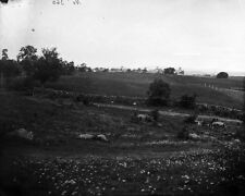 New 8x10 Civil War Photo: Culps Hill on the Union Right at Gettysburg, 1865