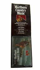 Vintage 1985 NIP The Best of Marlboro Country Music Vol. 1  Cassette Tape
