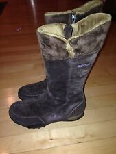 Adidas Arosa 2 Hi Womens Brown Suede Winter Boots Size 6.5 Lower Priced!!!