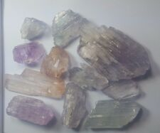 186.Grams  Natural Kunzite Double Terminated  crystals @Afghanistan wow////