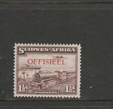 South West Africa 1938 Official 1 1/2d Train Suidwes single MM SG O27