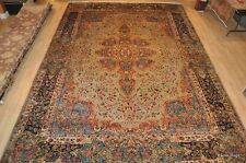 1900s Antique Persian Kerman 12' X 17' PALACE SIZE RUG PERFECT CONDITION #pm75