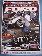 Performance Ford Mag 2012 - May - Probe - to add speed add lightness