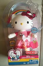 New Hello Kitty 40th Anniversary Doll Limited Target Exclusive Rare HTF Poseable