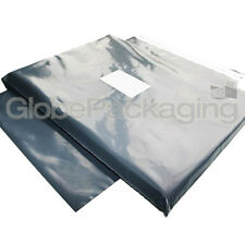 "20 x STRONG GREY 14""x16"" POSTAL POSTAGE POLY MAILING BAGS 14x16"" (350x400mm)"